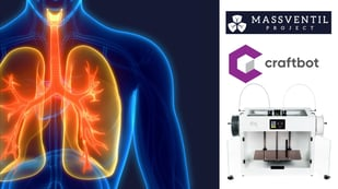 Featured image of The MassVentil Project: Designing a Mass Ventilator System with Craftbot Printers