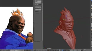 Featured image of Blender 2.9: Vertex Paint – Simply Explained