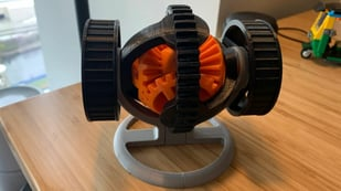 Featured image of 3D Printed Mechanisms: Rack & Pinion, Iris Box, & More