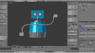 Featured image of Blender: Add Bones – Simply Explained