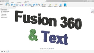 Featured image of Fusion 360: Text – Simply Explained