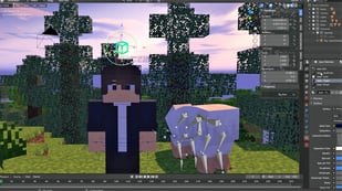 Featured image of Blender: Minecraft Add-on – A Simple Guide