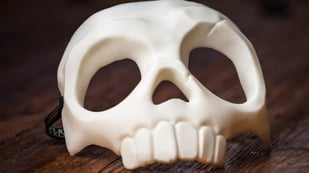 Featured image of 3D Printed Halloween Costume: 15 Spooky Accessories