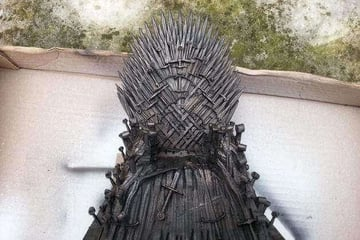 Image of Game of Thrones 3D Models to 3D Print: Iron Throne