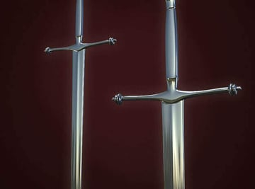 Image of Game of Thrones 3D Models to 3D Print: Ned Stark's Sword