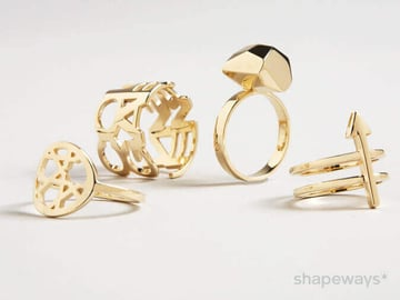 Image of 3D Printing Materials Guide: Precious Metals (Gold, Silver, Platinum)