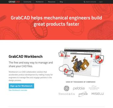 Imagen de Modelos 3D gratuitos: GrabCAD