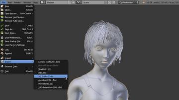 Imagem de Software para impressora 3D: software de modelagem 3D: Blender