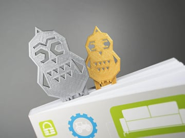 Image of Easy & Fun Things to 3D Print in an Hour (or Less): Book Owls