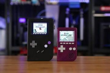 Image of Retropie-Gehäuse zum 3D-drucken für Raspberry Pi (Handheld)-Konsolen: PiGRRL (Portables Raspberry Pi Game Boy Gehäuse)