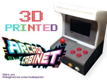 Image of Retropie-Gehäuse zum 3D-drucken für Raspberry Pi (Handheld)-Konsolen: Arcade-Automat (Raspberry Pi Gehäuse)