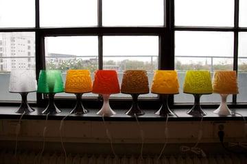 Image of 3D Printing Ideas – 30 Simple IKEA Hacks to 3D Print: LAMPAN Lampshade