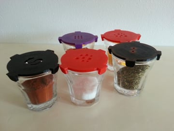 Image of 3D Printing Ideas – 30 Simple IKEA Hacks to 3D Print: POKAL Spice Shot Glasses