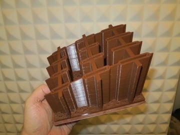 Image of 3D Printing Ideas – 30 Simple IKEA Hacks to 3D Print: PERFEKT Knife Block