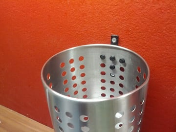 Image of 3D Printing Ideas – 30 Simple IKEA Hacks to 3D Print: ORDNING Wall Mount