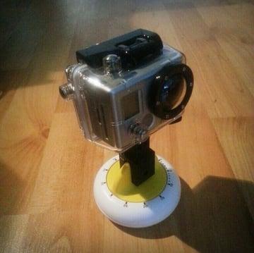 Image of 3D Printing Ideas – 30 Simple IKEA Hacks to 3D Print: STAM GoPro Mount