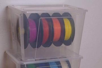 Image of 3D Printing Ideas – 30 Simple IKEA Hacks to 3D Print: SAMLA Filament Storage Solution