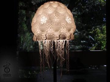 Image of 3D Printing Ideas – 30 Simple IKEA Hacks to 3D Print: HEMMA Jellyfish Lampshade