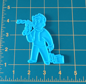 Image of Fallout Props & Toys to 3D Print: Pip-Boy Icon