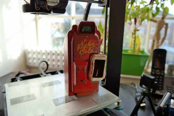 Image of Fallout Props & Toys to 3D Print: Nuka-Cola Vending Machine