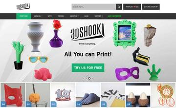 Imagem de Melhores sites para baixar modelos 3D gratuitos: 3DShook