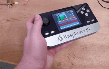 Image of Retropie-Gehäuse zum 3D-drucken für Raspberry Pi (Handheld)-Konsolen: Raspberry Pi Portable (Raspberry Pi Gehäuse)