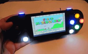 Image of Retropie-Gehäuse zum 3D-drucken für Raspberry Pi (Handheld)-Konsolen: PiStation Portable (Raspberry Pi Gehäuse)
