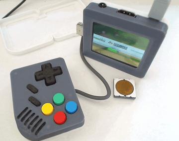 Image of Retropie-Gehäuse zum 3D-drucken für Raspberry Pi (Handheld)-Konsolen: Pi-Boy Classic (Raspberry Pi Game Boy Gehäuse)