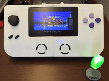 Image of Retropie-Gehäuse zum 3D-drucken für Raspberry Pi (Handheld)-Konsolen: Super Game Pi (Raspberry Pi SNES Gehäuse)