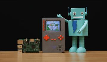 Image of Retropie-Gehäuse zum 3D-drucken für Raspberry Pi (Handheld)-Konsolen: PiGRRL 2 (Raspberry Pi Game Boy Gehäuse)
