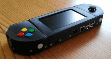 Image of Retropie-Gehäuse zum 3D-drucken für Raspberry Pi (Handheld)-Konsolen: Super Game PiSP (Raspberry Pi PSP Gehäuse)