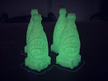Image of Fallout Props & Toys to 3D Print: Nuka Cola Keychain