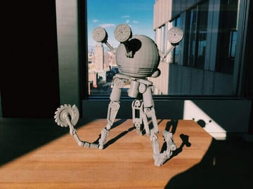 Image of Fallout Props & Toys to 3D Print: Codsworth
