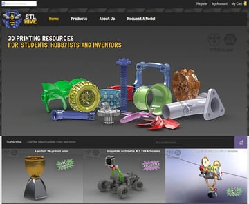 Image of Free STL Files, 3D Printer Files, 3D Printer Models & 3D Printing Designs: STLHive