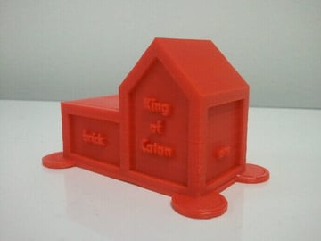 Image of Great Ideas For 3D Settlers of Catan to 3D Print: King of Catan Trophy