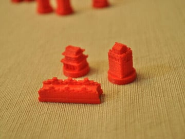 Image of Great Ideas For 3D Settlers of Catan to 3D Print: China Player Set