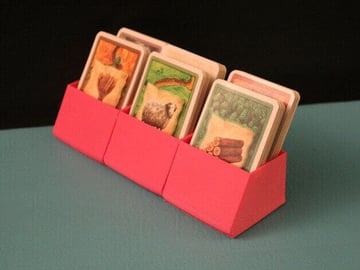 Image of Great Ideas For 3D Settlers of Catan to 3D Print: Card Holder