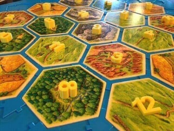Image of Great Ideas For 3D Settlers of Catan to 3D Print: Number Tiles with 3D Numbers