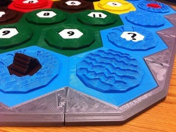 Image of Great Ideas For 3D Settlers of Catan to 3D Print: Settlers of Catan Border