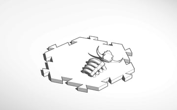 Image of Great Ideas For 3D Settlers of Catan to 3D Print: Desert Tile