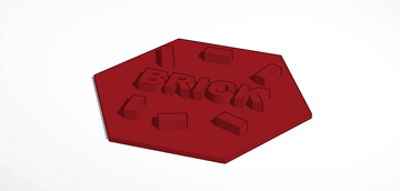 Image of Great Ideas For 3D Settlers of Catan to 3D Print: Brick Tiles
