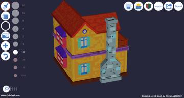 Imagem de Software para impressora 3D: software de modelagem 3D: 3D Slash