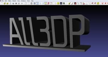 Imagem de Software para impressora 3D: editar e reparar arquivos STL: MeshLab