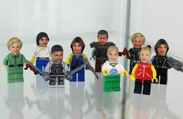 Image of 3D Printed Toys – 11 Ideas for Children of all Ages: Pimp your Lego