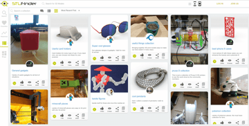Image of Free STL Files, 3D Printer Files, 3D Printer Models & 3D Printing Designs: STLFinder