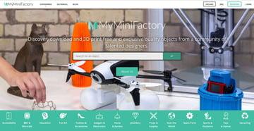 Imagen de Modelos 3D gratuitos: MyMiniFactory