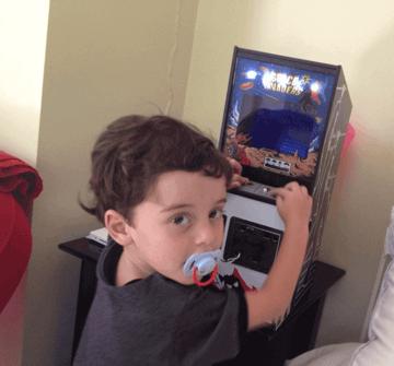 Image of Retropie-Gehäuse zum 3D-drucken für Raspberry Pi (Handheld)-Konsolen: DIY Mini Space Invaders (Raspberry Pi Arcade Gehäuse)