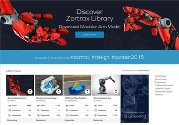 Image of Free STL Files, 3D Printer Files, 3D Printer Models & 3D Printing Designs: Zortrax Library