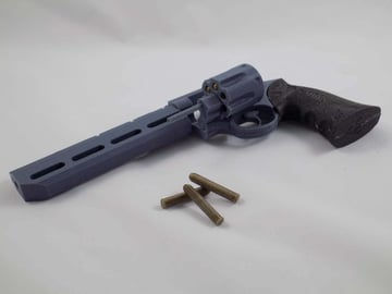 Image of Fallout Props & Toys to 3D Print: Kellogg's Pistol