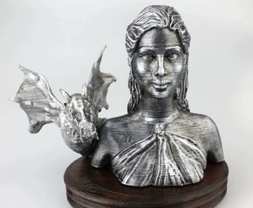 Image of Game of Thrones 3D Models to 3D Print: Daenerys Targaryen Bust